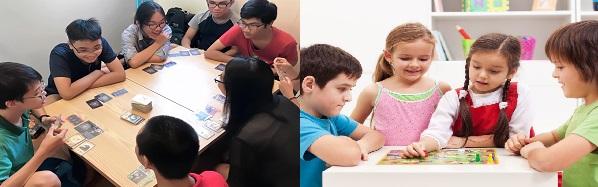 boardgame không giới hạn độ tuổi, các bạn từ trẻ nhỏ cho đến các thanh niên thậm chí là cả người lớn tuổi vẫn có thể chơi boardgame