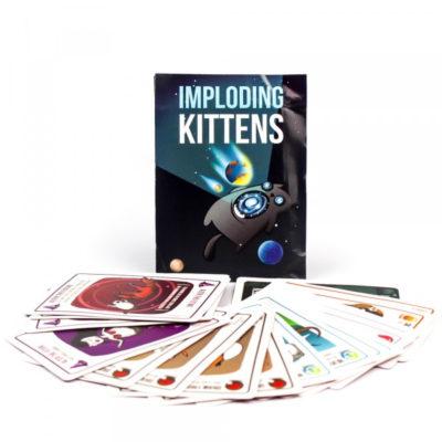 mèo nổ mở rộng imploding kittens