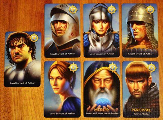 các nhân vật trong avalon board game