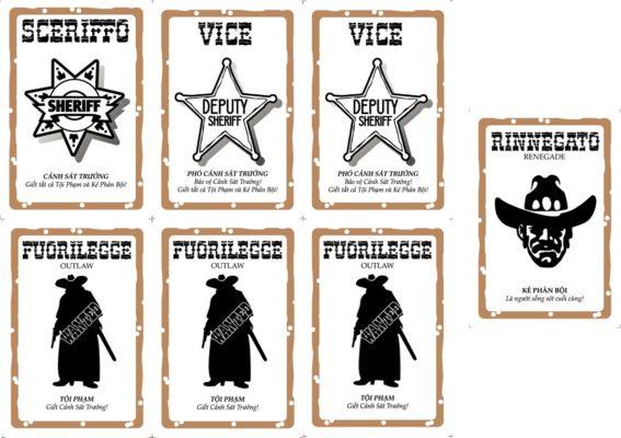 các vai trò trong bang board game