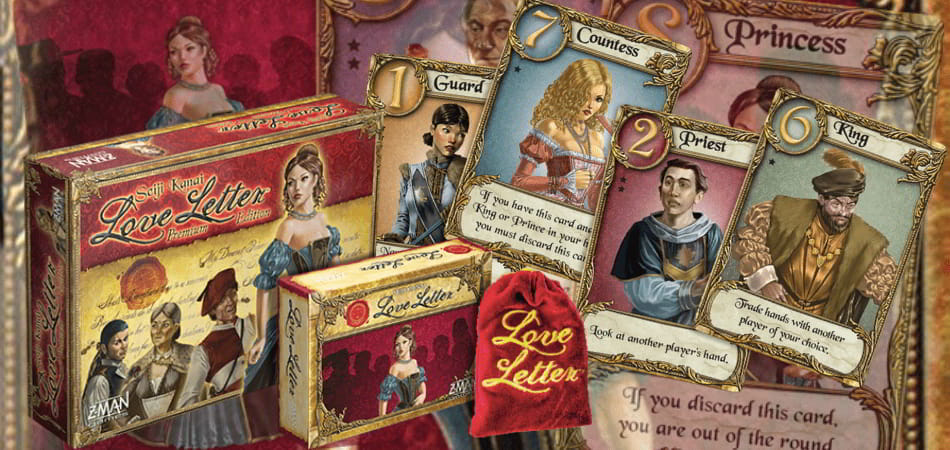 love letter board game