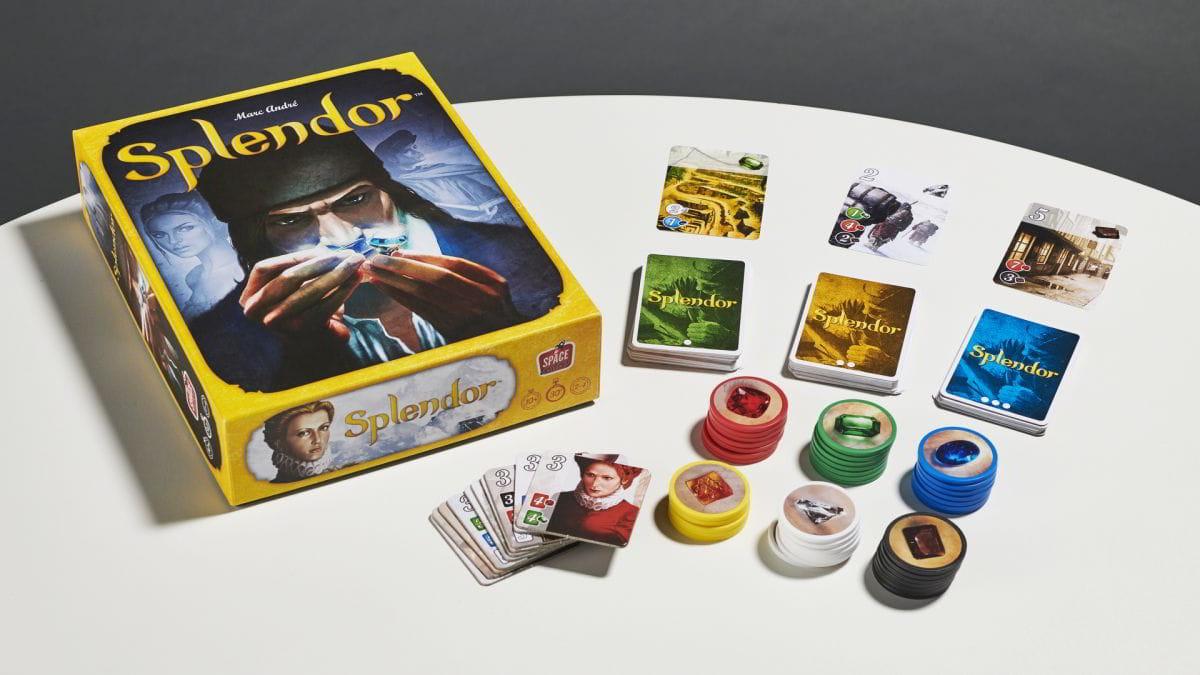 splendor, splendor board game