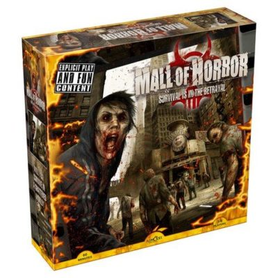 mall of horror, mall of horror board game