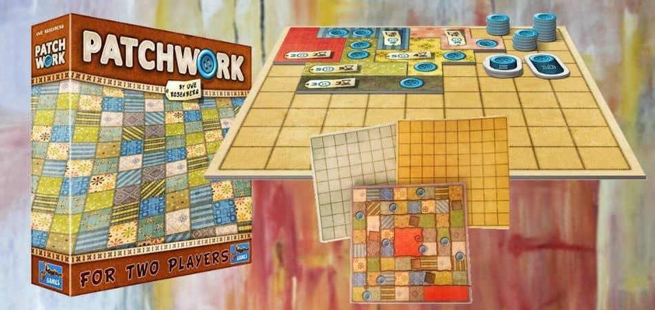 patchwork, hướng dẫn chơi patchwork